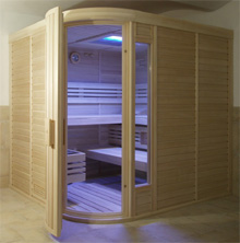 Dyntar Sauna Combi Polar Royal