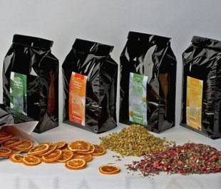 Saunas herbal and fruit mixtures Dyntar
