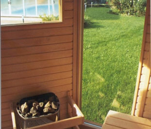 Finnisch outdoor sauna