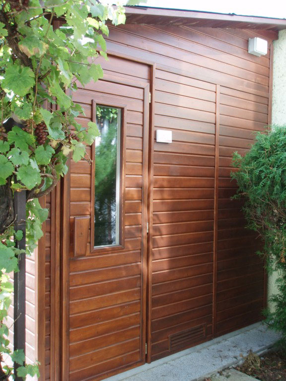 Outdoor saunas sauna and infra sauna saunas dyntar for Do it yourself outdoor sauna